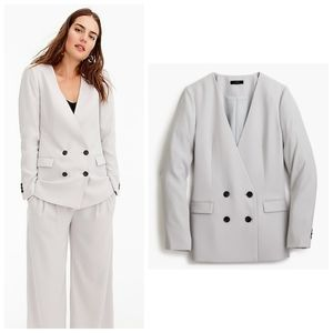 J. Crew French Girl Crepe Blazer